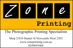 Zone Printing Logo Orange 6Inch